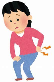 介護する人は腰痛に注意。無理は禁物です。