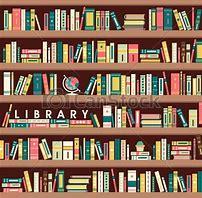 施設の中から図書館の本が借りられます