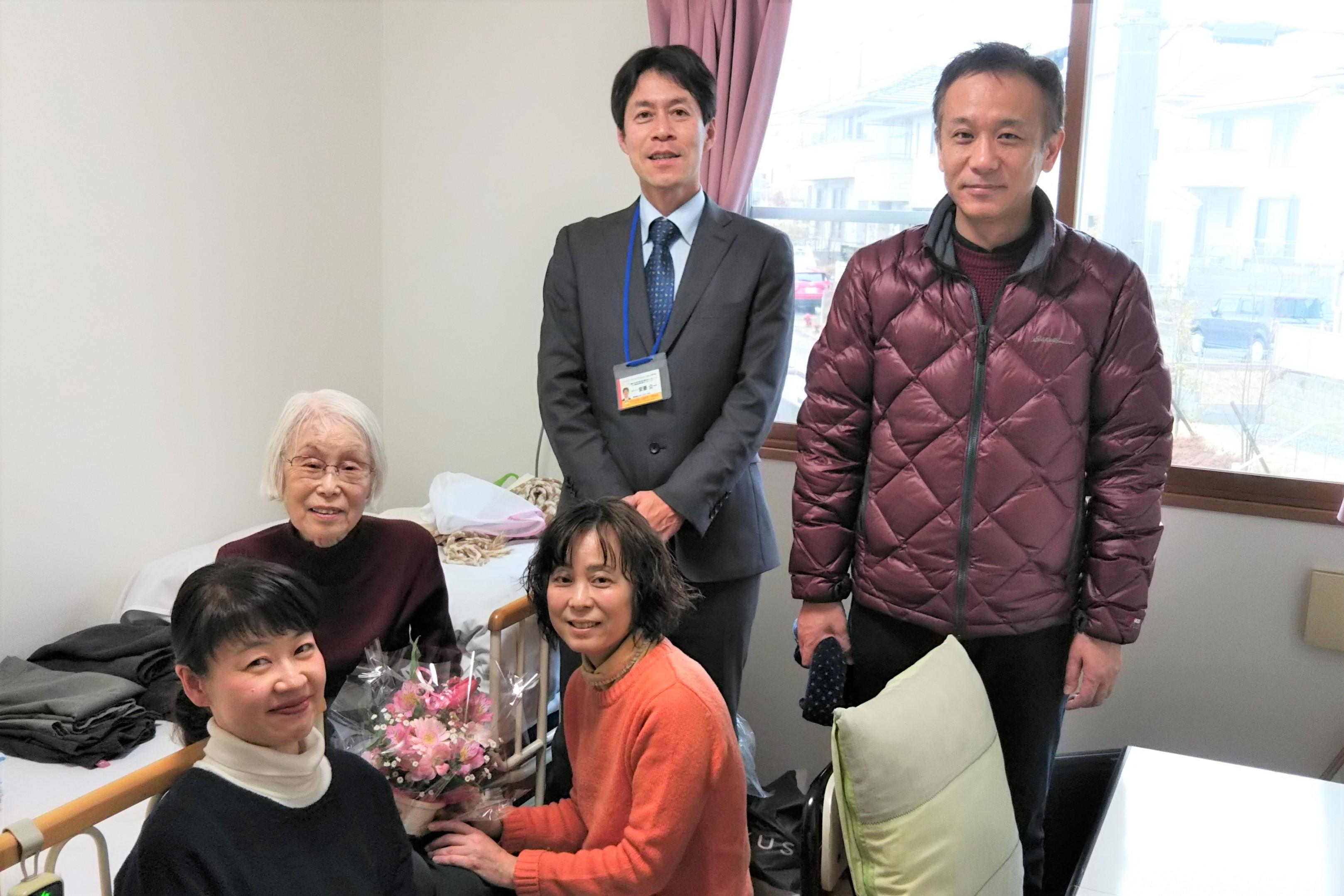 箕面市の住宅型有料老人ホームにご入居されました!