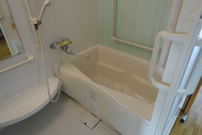 5階の居室にあるお風呂です