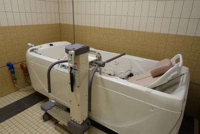 機械浴もあります