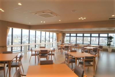 9階のレストランホールです
