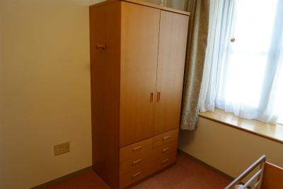 居室に備え付けてるクローゼットです