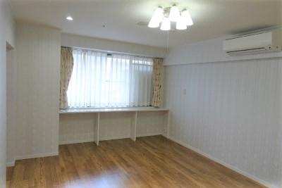 お二人でご入居できるタイプのお部屋です。広々としています。