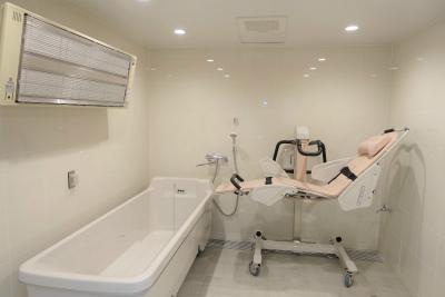 機械浴になります