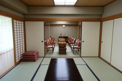 1階の和室で囲碁が出来ます。