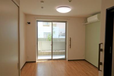 1人部屋です。20㎡以上ある余裕の広さです。