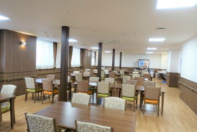 食堂です。館内調理で出来立てのお食事を召し上がれます。