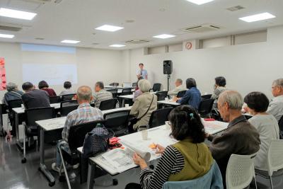 豊中市のハッピータイムケアが「老人ホームの選び方」の講演をさせていただきました!