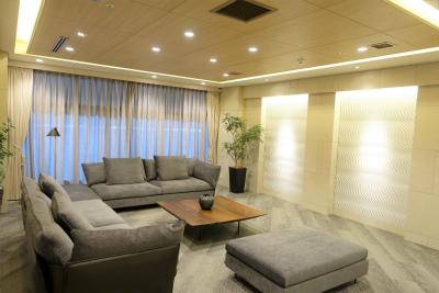 1階ロビーです。ご家族や来客が訪問された時などにご利用できます。