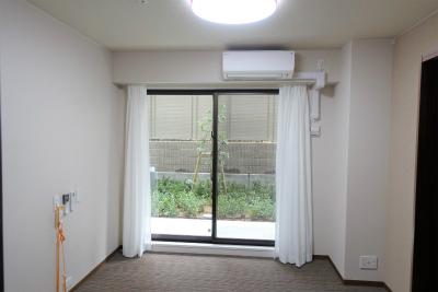1階のお部屋です。ナースコールも付いていて安心です。