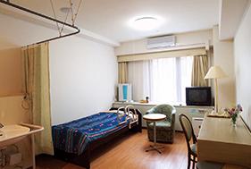 介護型入居のお部屋になります。