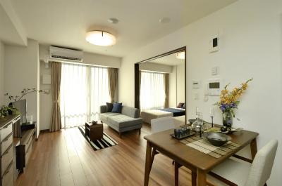 お元気な方向けの一般居室です。門限などなく自宅と同じように過ごせます。