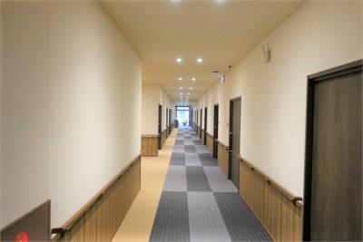 館内の共用廊下です。