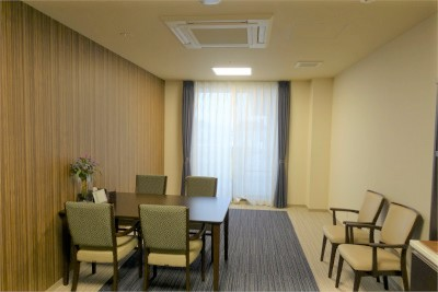 談話スペースが各階にあります。