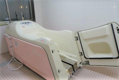 機械浴もございますのでお身体に不安のある方も安心してご入浴出来ます。