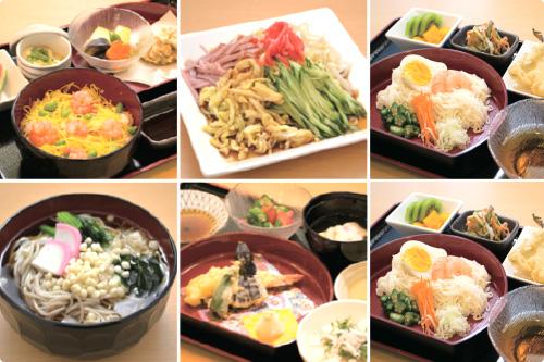 四季の味や地域の味、イベント食などもご提供されています。